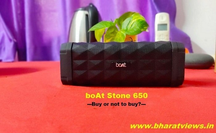 Boat Stone 650 Review