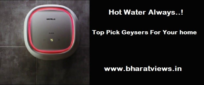 Best 10 water heaters (Geysers) in India