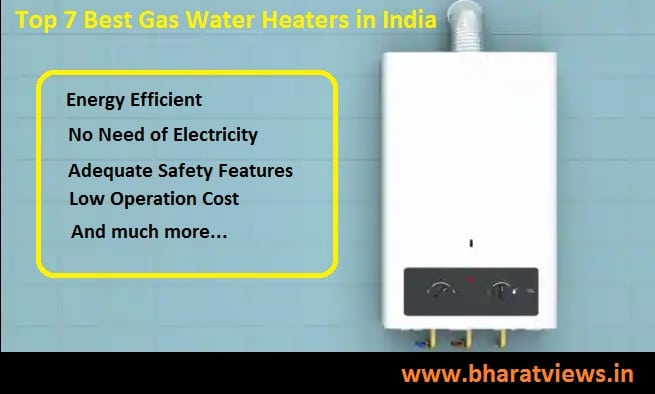 Top 7 best gas geysers in India