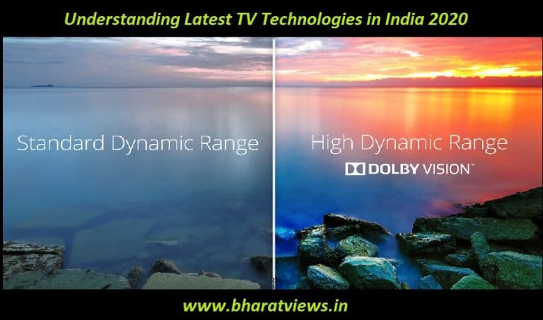 Understanding Latest TV Technologies in India 2020