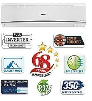 Sanyo inverter AC in budget