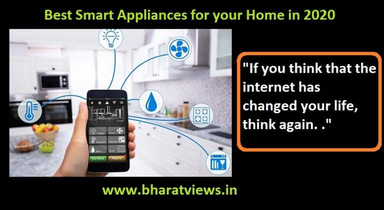 Best Smart Appliances for your Home in 2020
