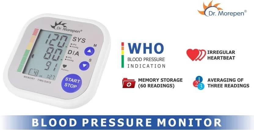 Best Blood Pressure Machine/BP Monitors in India