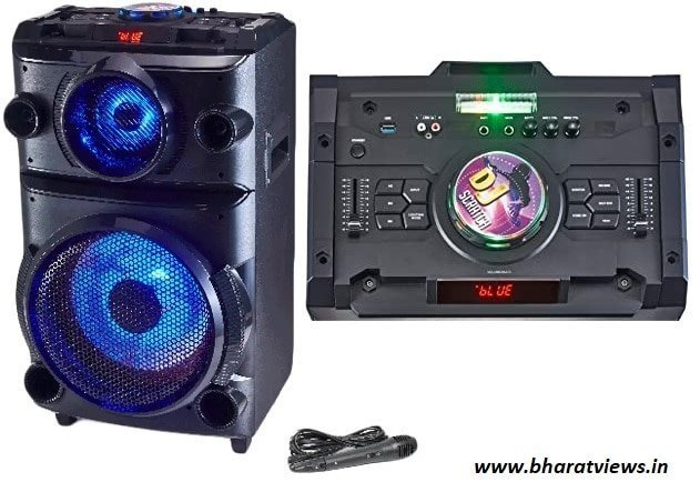 Best speakers with highest number of features