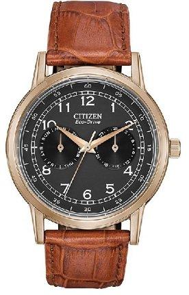 Citizen Analog Black Dial Unisex's Watch