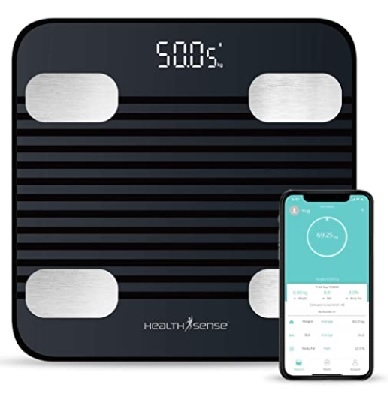 smart body weighing scale with fat analyzer