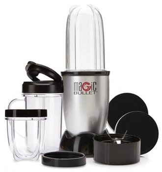 Magic Bullet Blender MB4-1049 Sheet Metal Compact Blender