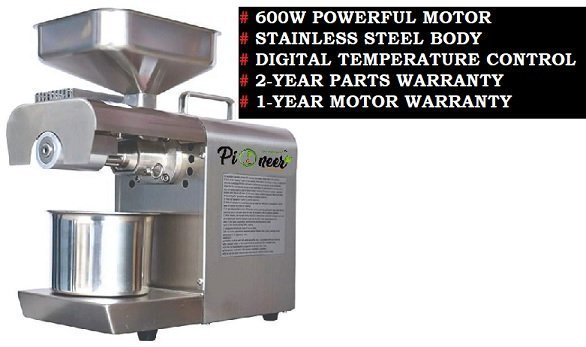 best oil press machine for home