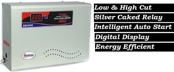 Best Automatic Voltage Stabilizer for AC