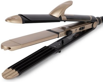 Best curl iron with the straightener