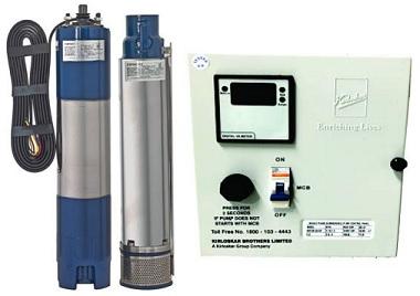 Best 1.0 HP submersible water pump by Kirloskar